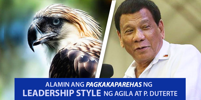 agila at pangulong duterte