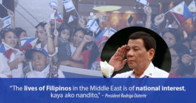lives of filipino is of national interest